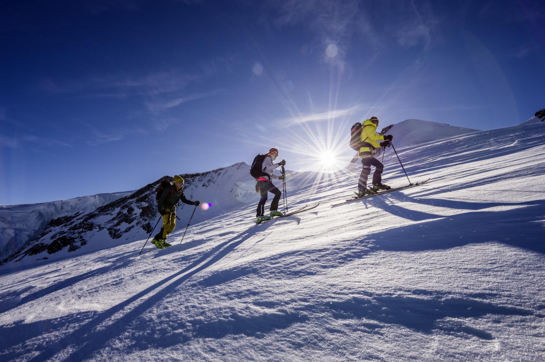 Klettergurt Skitouren : Skitouren ohne hüttenübernachtung zermatters